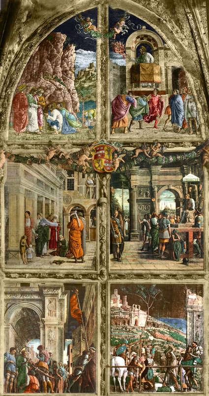 Fresques de la chapelle Ovetari