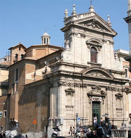 Église Santa Maria Della Vittoria de Rome