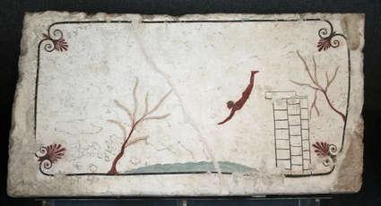 Fresque de la Tombe du Plongeur