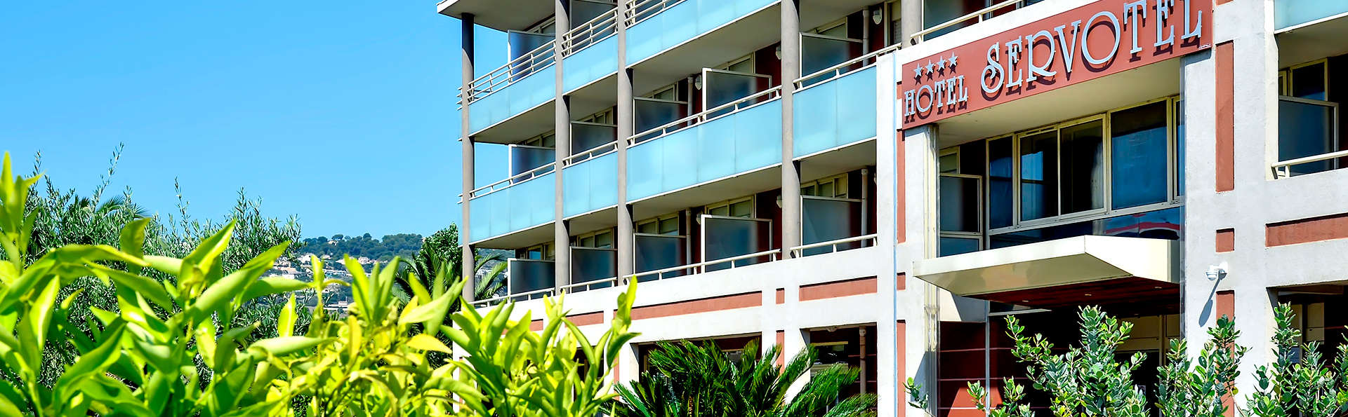 H tel servotel h tel de charme nice for Reservation hotel paca