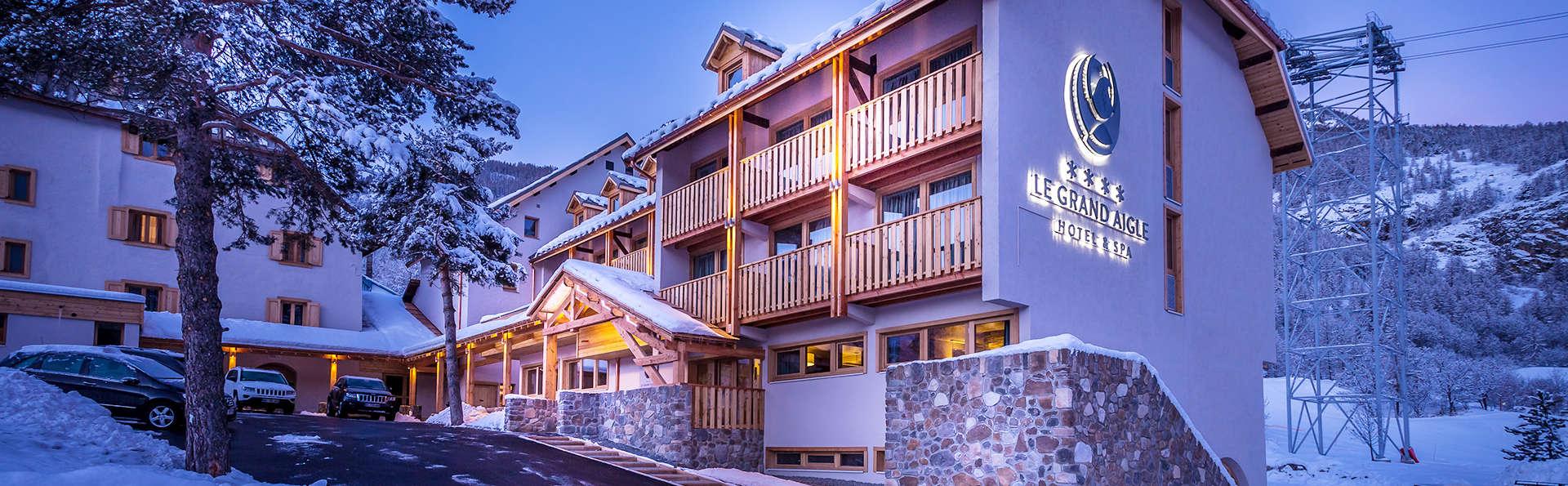 Le Grand Aigle Hotel Et Spa Serre Chevalier