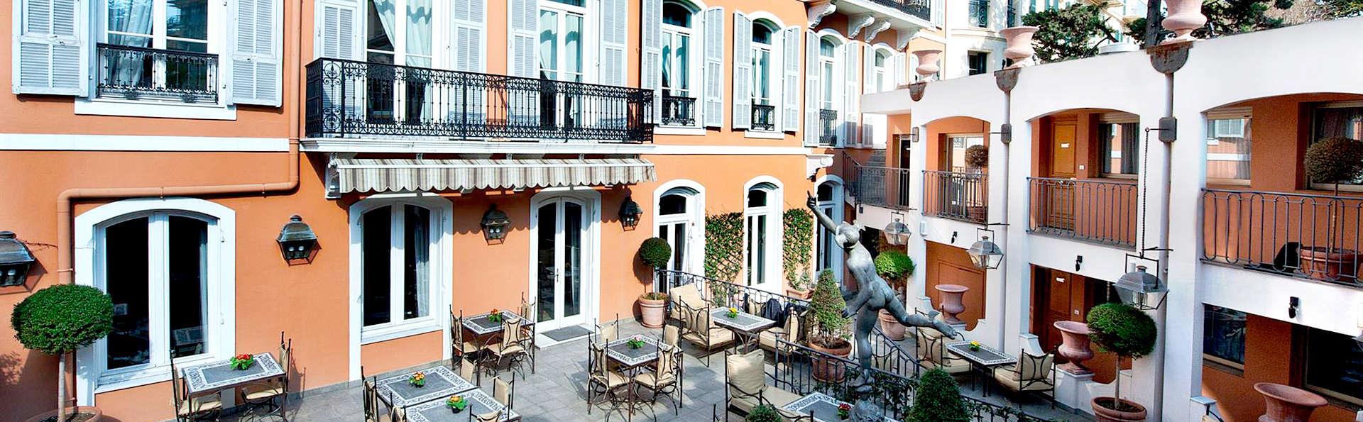 H tel ellington h tel de charme nice for Reservation hotel paca