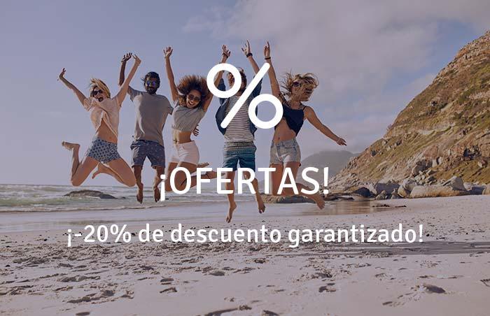 ¡-20% de descuento garantizado!