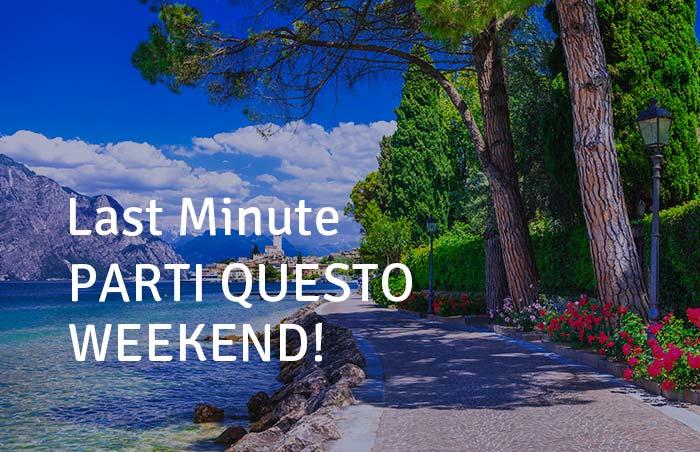 Parti questo weekend!