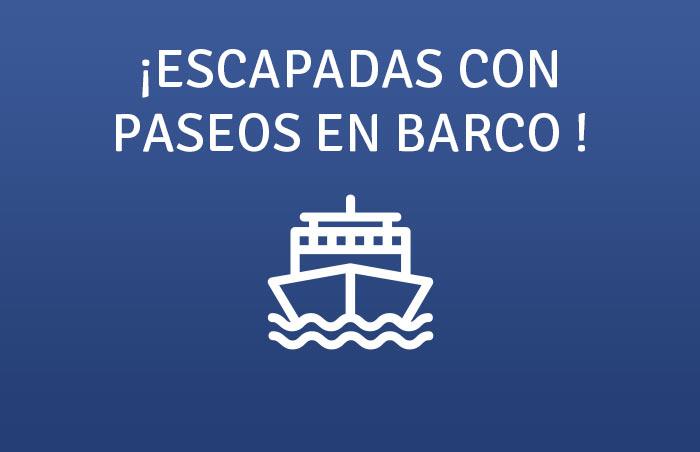 Escapadas con paseo en barco