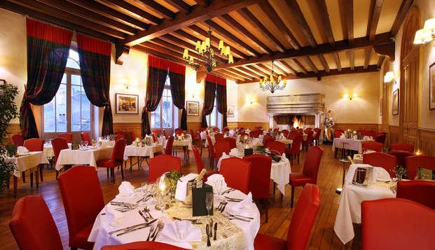Week-end avec dîner gastronomique à coté de Chambéry