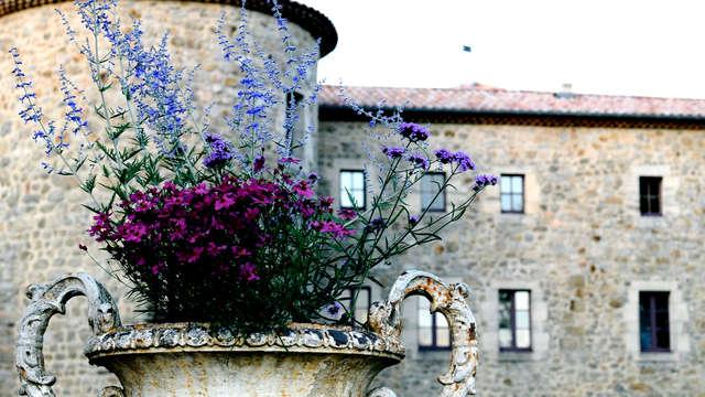 Week-end de charme dans un château authentique, au coeur de l'Ardèche