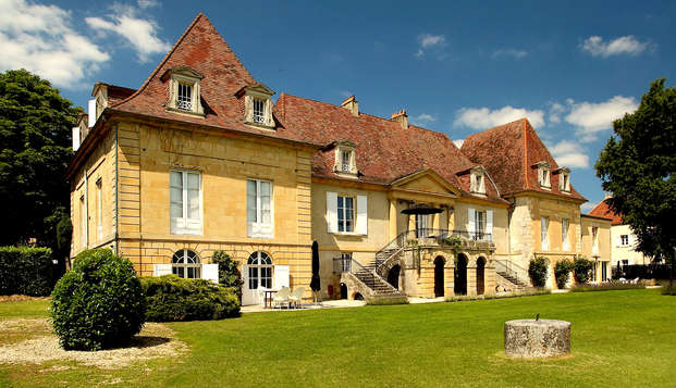 Encanto en un castillo del Périgord