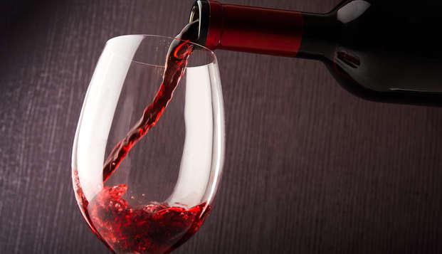 Dégustation de vin près d'Orange