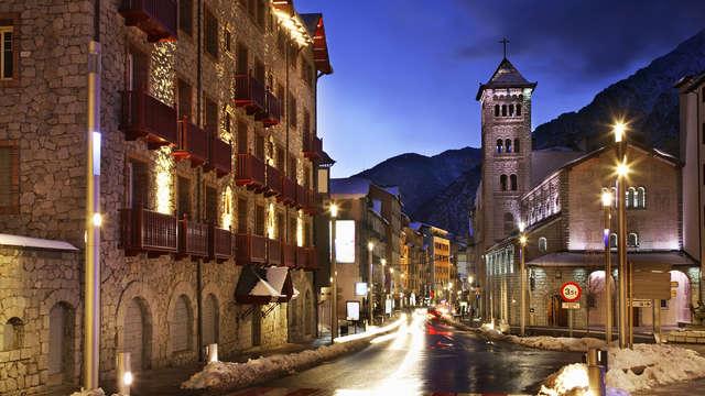 Desconexión en perfecta harmonía entre las montañas de Andorra