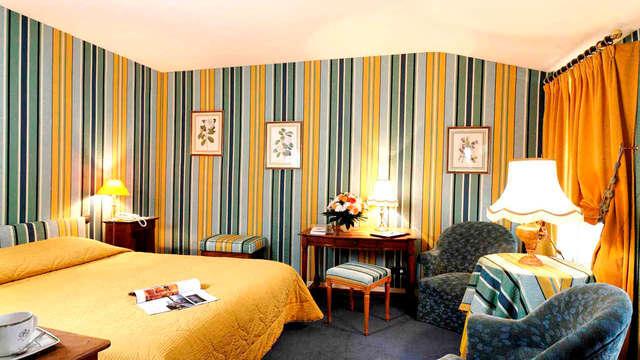 Escapada de lujo a un hotel con mucho encanto en Fontainebleau