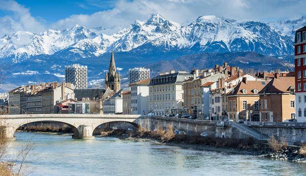 Week-end en suite près des berges de l'Isère, à Grenoble (avec 1 repas offert)