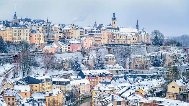 Kerstvakantie in het hart van Luxemburg-stad