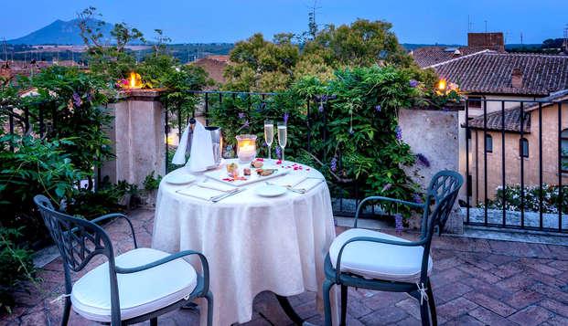 Profitez d'un dîner dans un hôtel 4* élégant dans la région de Latium