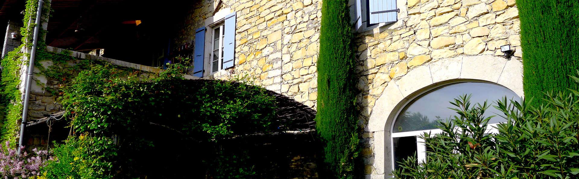 Escapade à côté de Vallon-Pont-d'Arc (à partir de 2 nuits)