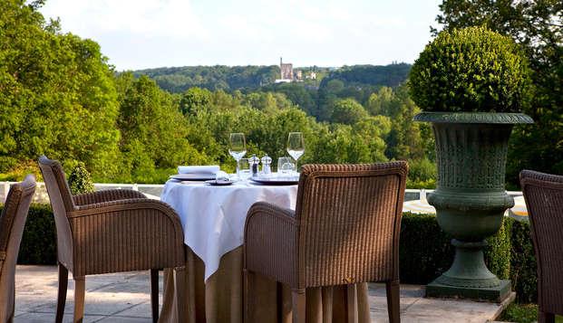 Week-end en chambre Prestige avec dîner à proximité de Tours