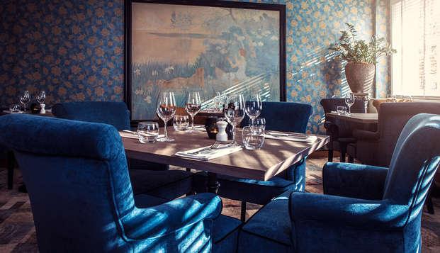 Romantisme et surprise gastronomique au cœur de La Haye