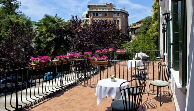 Un elegante soggiorno in un hotel a Lido di Venezia
