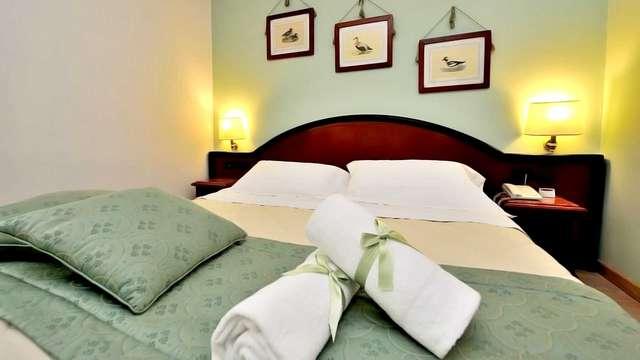 2 nuits en chambre double confort Vue montagne pour 2 adultes