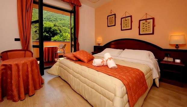 Charme dans un hôtel 4* dans les collines d'Ombrie