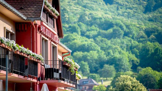 Pause en chambre confort à Andlau, au cœur de l'Alsace