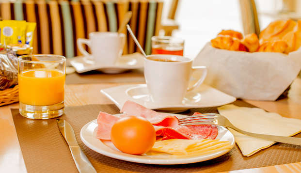 Excelsuites Residence Hoteliere - Desayuno