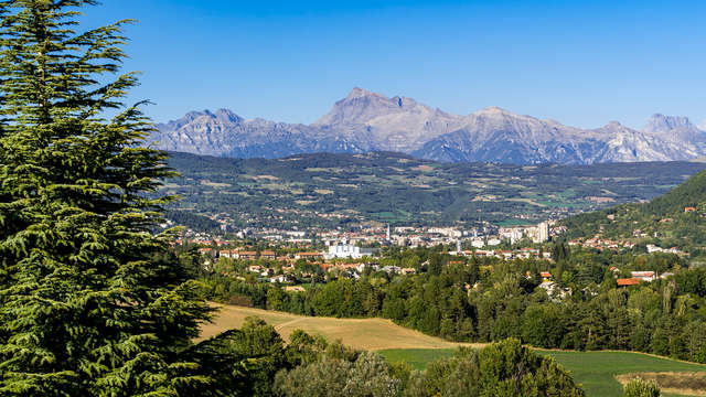 Paysages de montagne et charme à Gap