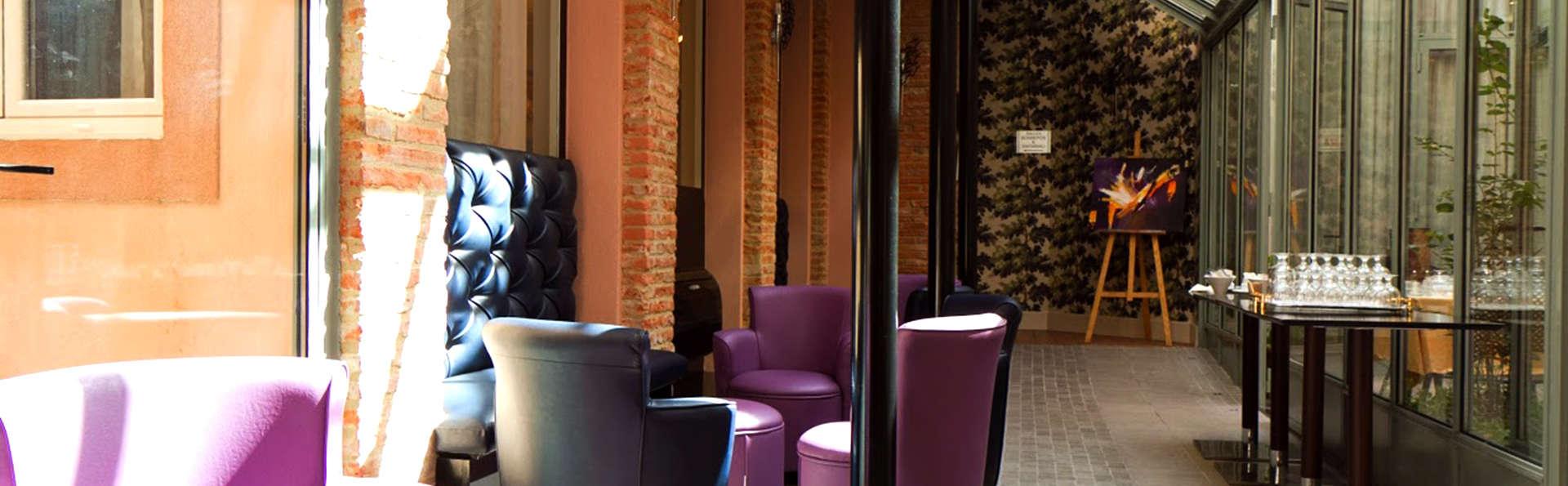 Week-end de charme en chambre supérieure en plein coeur de Toulouse