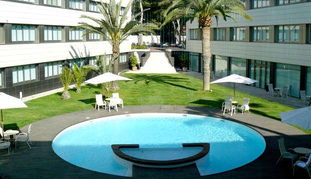 Escapada económica con parking y desayuno en Alicante