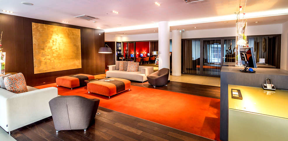Hipark design suites grenoble 3 grenoble frankrijk for Hotel design grenoble