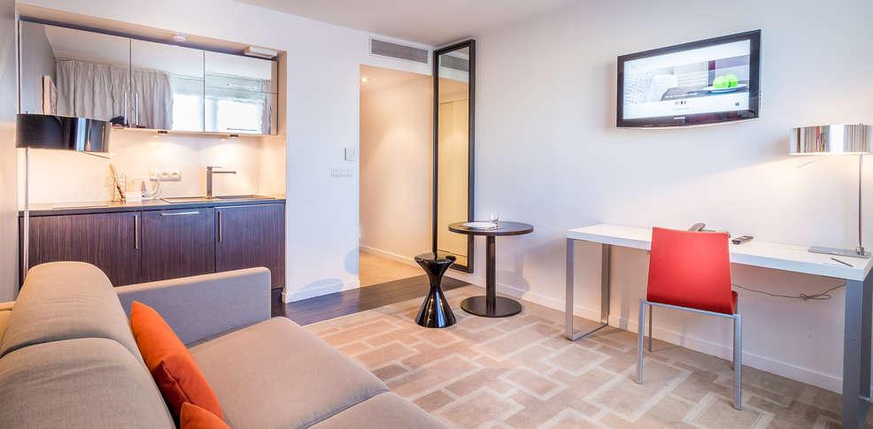 Hipark design suites marseille 3 marseille frankrijk for Hotel design wallonie