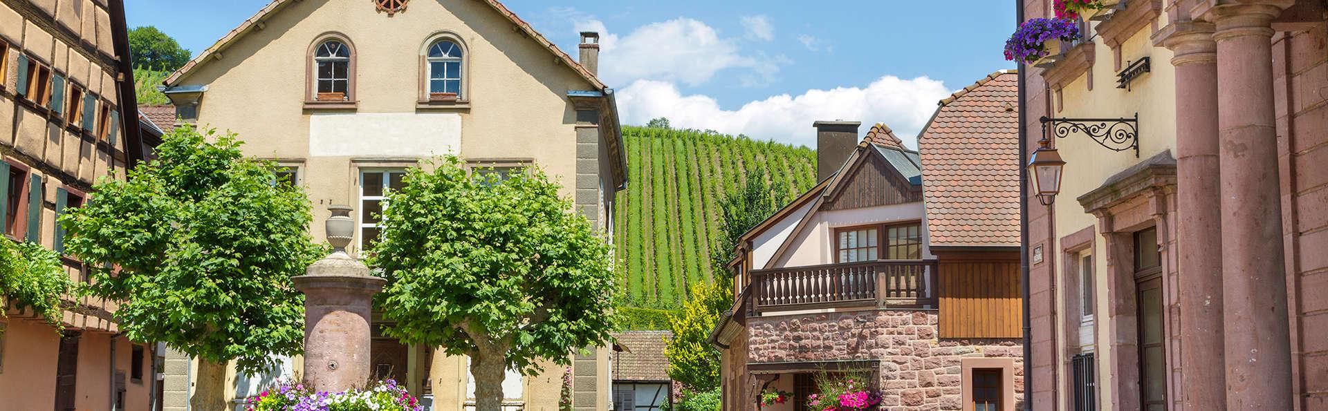 Week-end découverte avec dégustation de vins d'Alsace