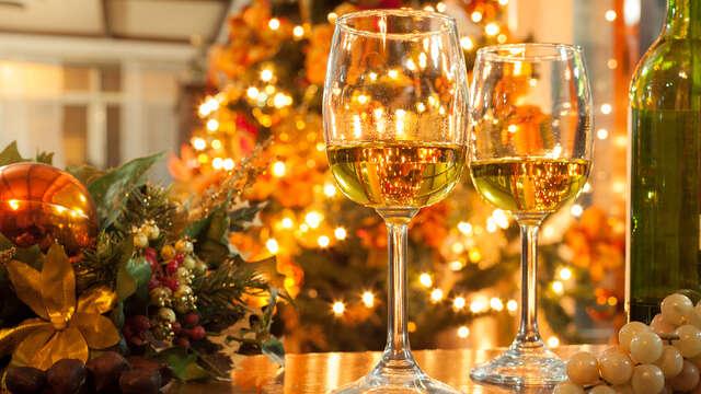 Soirée idyllique avec dîner et brunch du nouvel an proche d'Avignon