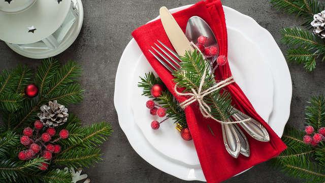 Cena de Nochevieja 6 platos para 2 adultos