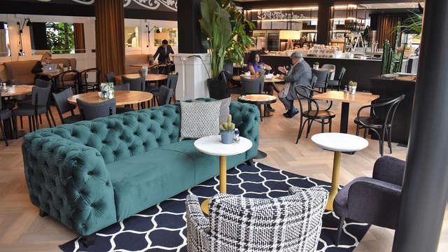 Confort et détente dans un hôtel théâtral spécial près d'Utrecht