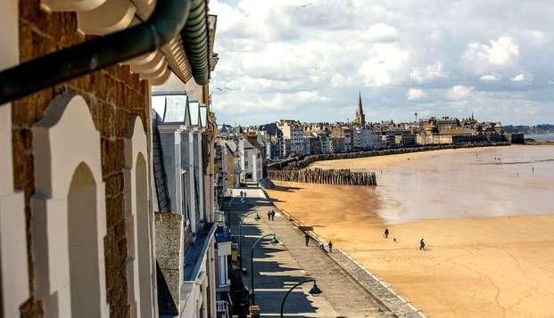 Séjour à deux pas des plages de Saint-Malo