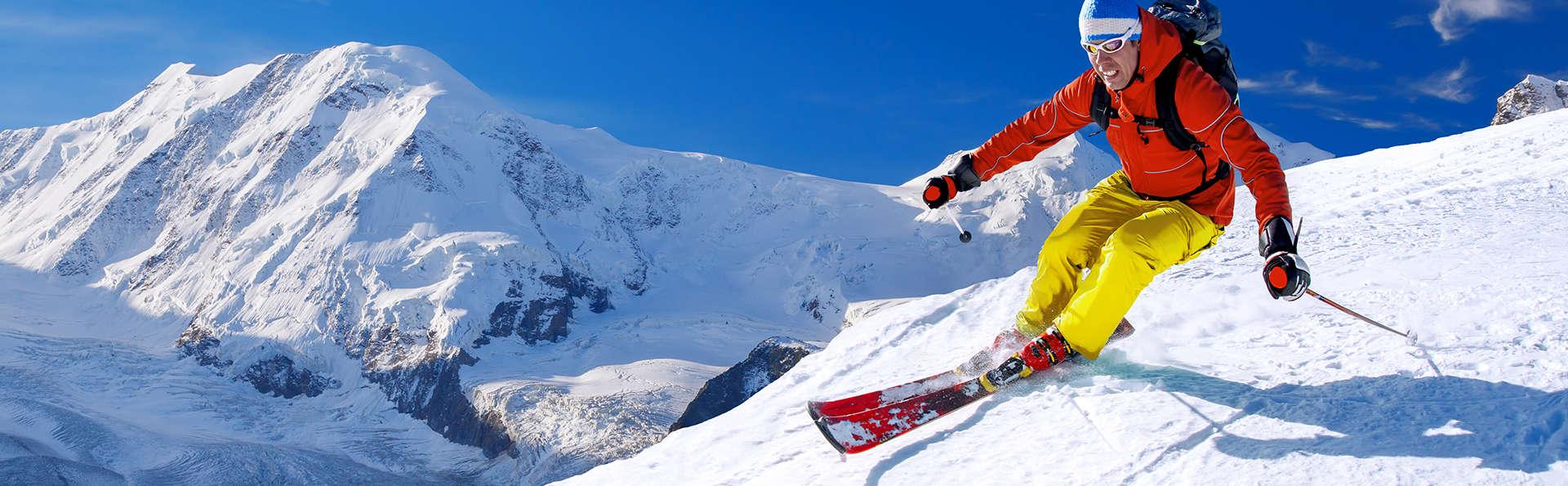 Séjour Ski : Dîner et détente à la Clusaz (forfaits 2 jours inclus)