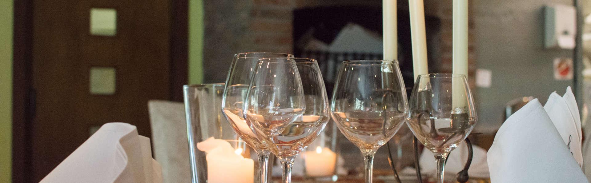 Profitez d'un séjour culinaire avec 2 dîners, sauna et jacuzzi privé à Oudenburg (à partir de 2 nuit