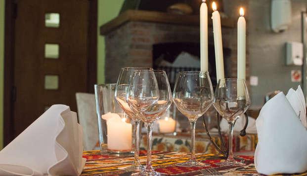 Geniet van een culinair verblijf met 2 diners, sauna en privé jacuzzi in Oudenburg (vanaf 2 nachten)