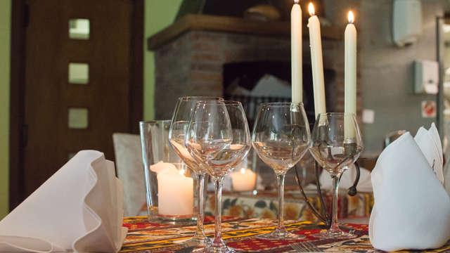 Disfruta de una estadía culinaria con 2 cenas, sauna y jacuzzi privado en Oudenburg (desde 2 noches)