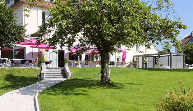 Hotel Beau Site - Luxeuil-les-Bains - Fachada
