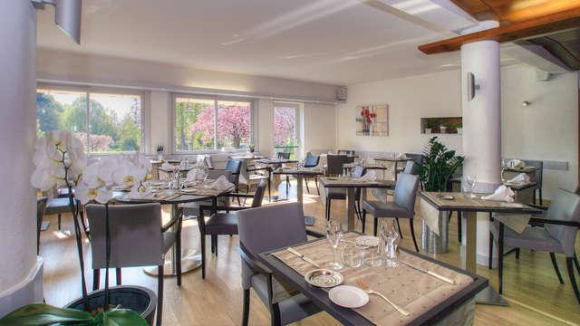 Hotel Beau Site - Luxeuil-les-Bains - Restaurante