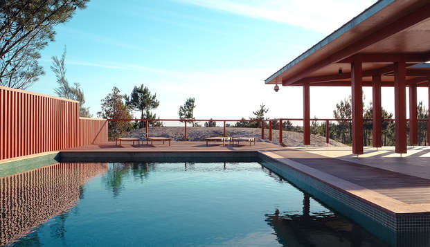 Relax en un hotel frente al mar en plena reserva natural en Viana do Castelo