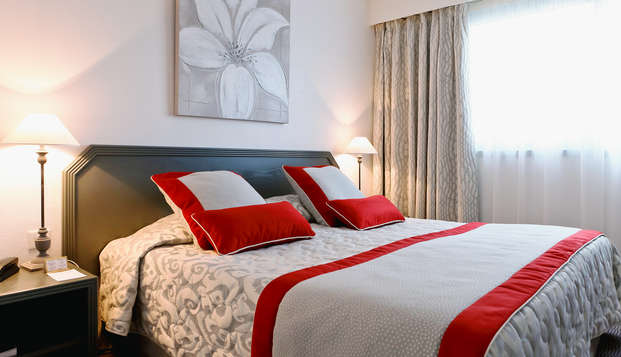 Hotel Charlemagne - habitacion