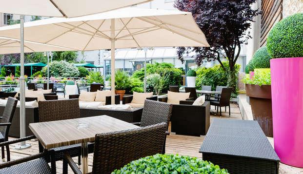 Hotel Charlemagne - Terraza