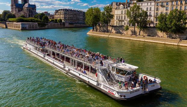 Escapada familiar a la capital francesa con crucero por el Sena
