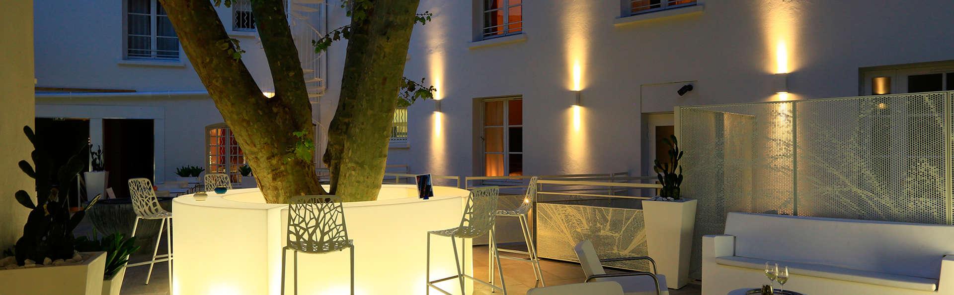 H tel c zanne boutique 4 aix en provence france for Hotel cezanne boutique hotel