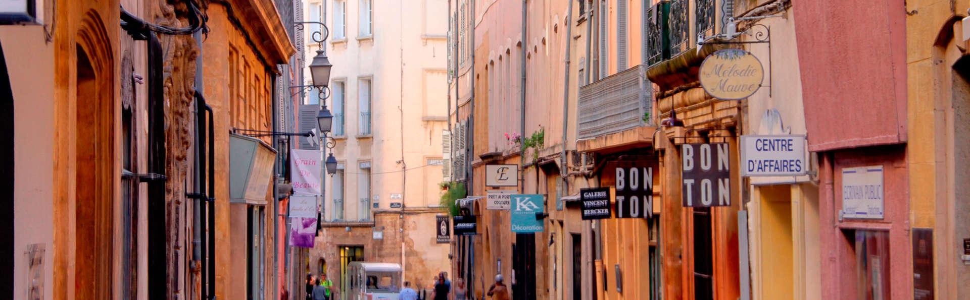 Week-end en plein coeur d'Aix-en-Provence dans un hôtel de charme