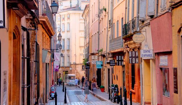 Alojamiento en Aix-en-Provence en un hotel con encanto