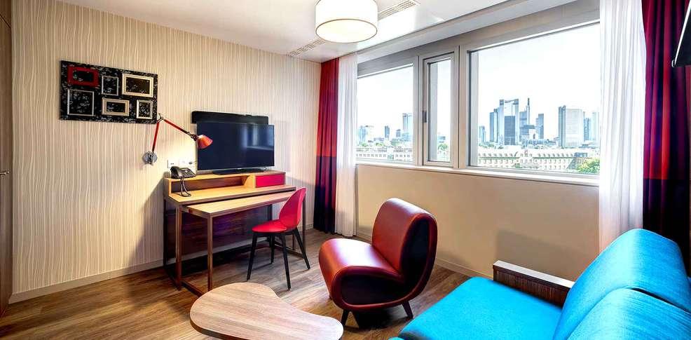 Aparthotel adagio frankfurt city messe francfort allemagne for Aparthotel adagio espagne